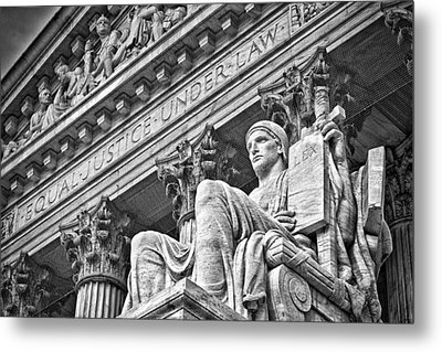 Supreme Court Building 22 Metal Print by Val Black Russian Tourchin