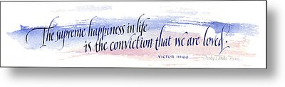 Supreme Happiness I Metal Print by Judy Dodds