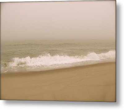 Metal Print featuring the photograph Surf And Sand by Robin Regan