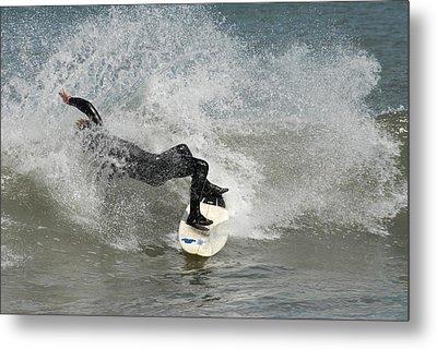 Surfing 396 Metal Print by Joyce StJames