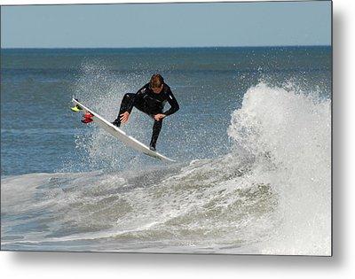 Surfing 399 Metal Print by Joyce StJames