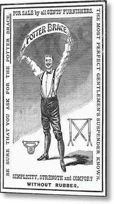 Suspenders, 1888 Metal Print by Granger