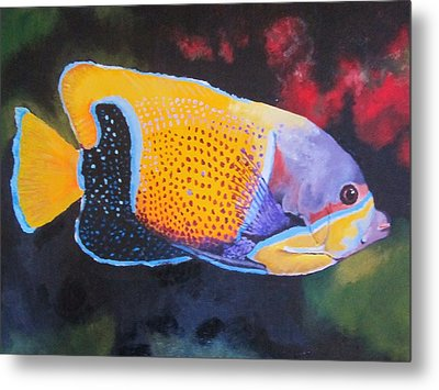 Sutton Fish Metal Print by Terry Gill
