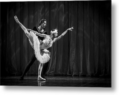 Swan Lake  White Adagio  Russia 3 Metal Print by Clare Bambers