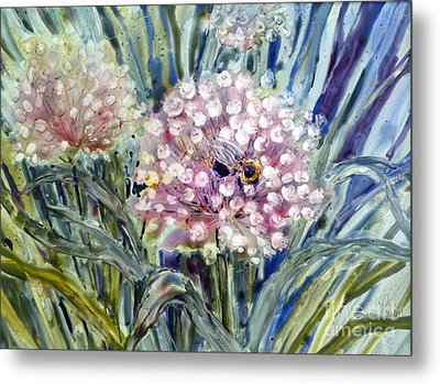 Sweet Attraction Metal Print by Louise Peardon
