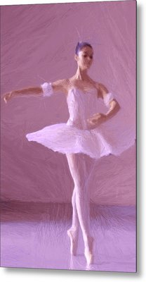 Sweet Ballerina Metal Print by Steve K