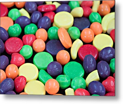 Metal Print featuring the photograph Sweet Candy Galore  by Sherry Hallemeier