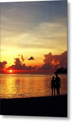 Sweet Golden Memory. Maldives Metal Print by Jenny Rainbow