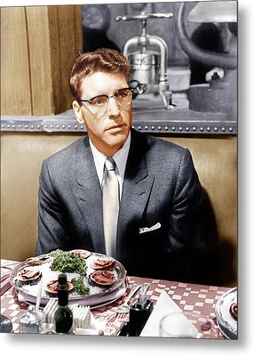 Sweet Smell Of Success, Burt Lancaster Metal Print by Everett