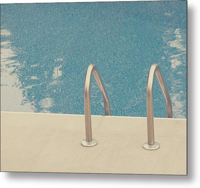 Swimming Pool Metal Print by Jessica Helinski