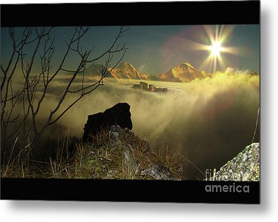 Swiss View Metal Print