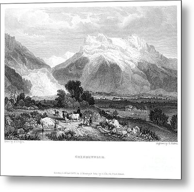Switzerland: Grindenwald Metal Print by Granger