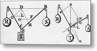 Symbol Language Of Statics Metal Print by Science Source