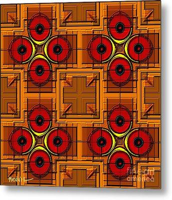 Symmetrica 188 Metal Print by Nedunseralathan R