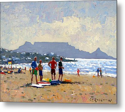 Table Mountain Cape Town Metal Print by Roelof Rossouw