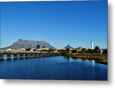Metal Print featuring the photograph Table Mountain by Werner Lehmann