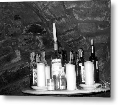 Table Of Spirits Metal Print by Jennifer Sabir