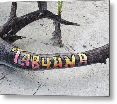 Tabyana Beach Metal Print by Vijay Sharon Govender