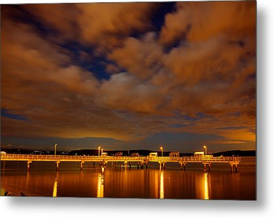 Tacoma Waterfront Metal Print by Robby Green