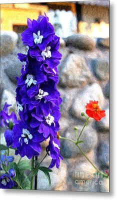 Metal Print featuring the photograph Tahoe City Flower by Anne Raczkowski