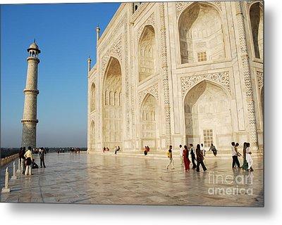 Taj Mahal Metal Print by Jen Bodendorfer