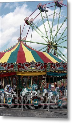 Take Me To The Fair Metal Print by Penny Hunt