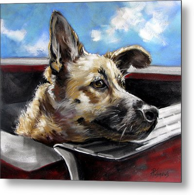 Metal Print featuring the painting Take Me Too Please by Rae Andrews
