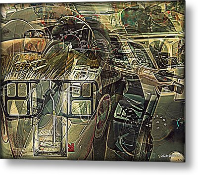 Take The Helm Metal Print by Paulo Zerbato