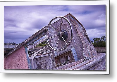 Metal Print featuring the digital art Take The Wheel by Kevin Chippindall