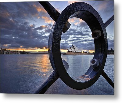 Taking Centre Stage Metal Print by Renee Doyle