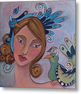 Taking Flight Metal Print by Suzanne Drolet