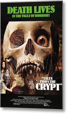 Tales From The Crypt, On Left From Top Metal Print by Everett