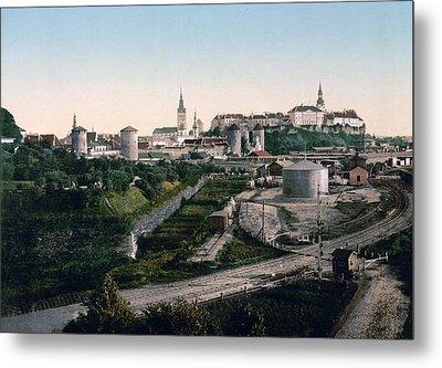 Tallinn Estonia - Formerly Reval Russia Ca 1900 Metal Print by International  Images