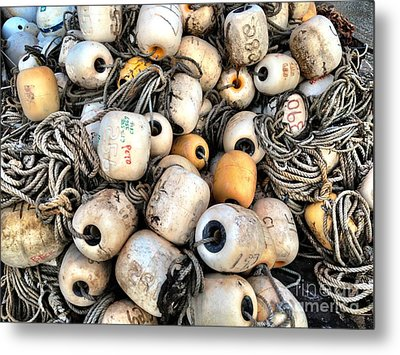 Tangled Metal Print by Extrospection Art