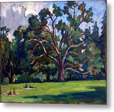Tanglewood Saturday Metal Print by Thor Wickstrom