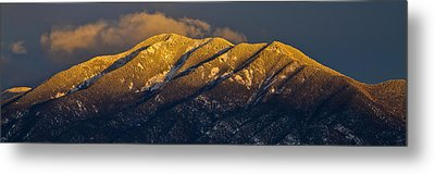 Taos Mountain Metal Print