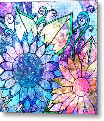Tapestry 33 Metal Print by Robin Mead