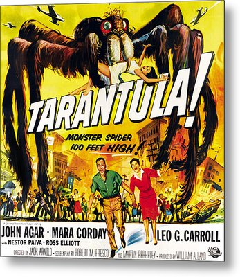 Tarantula, Bottom From Left John Agar Metal Print