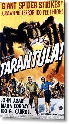 Tarantula, John Agar, Mara Corday, 1955 Metal Print by Everett
