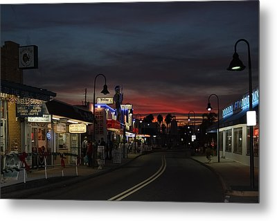 Metal Print featuring the photograph Tarpon Springs After Sundown by Ed Gleichman