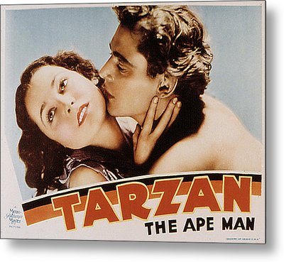 Tarzan The Ape Man, Maureen Osullivan Metal Print by Everett