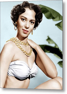 Tarzans Peril, Dorothy Dandridge, 1951 Metal Print by Everett