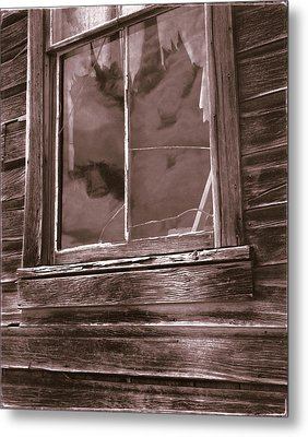 Tattered Clouds - Bodie Metal Print by Jan W Faul