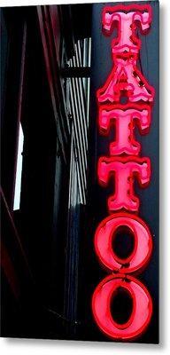 Tattoo Granville Metal Print by Randall Weidner