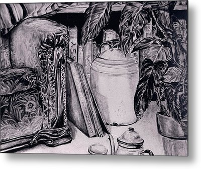 Tea For Two Metal Print by Brian Sereda