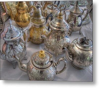 Tea Time Metal Print by Jane Linders