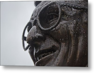 Tears Of Paterno Metal Print by Michael Misciagno