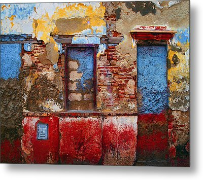 Telecom Metal Print by Skip Hunt