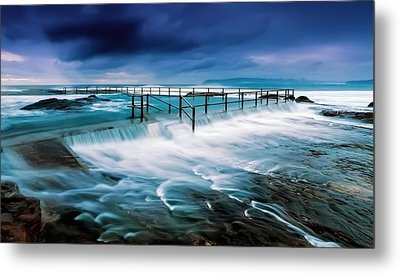 Tempest At The Baths Metal Print