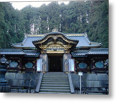 Temple Building Metal Print